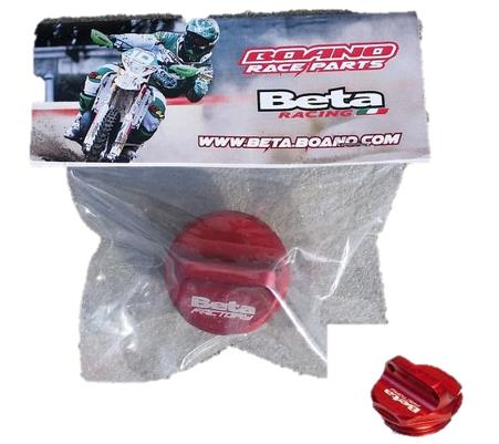 BETA OIL FILTER PLUG RED