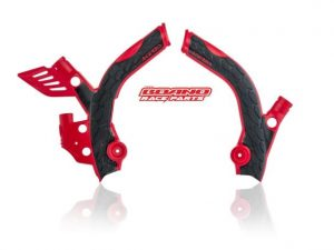 ACERBIS RED FRAME PROTECTION