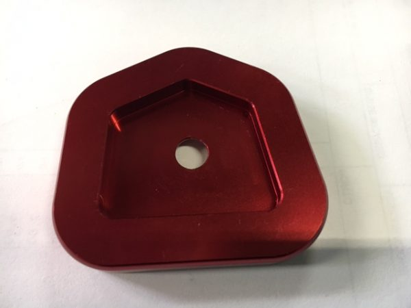 Sidestand Plate Kit Red