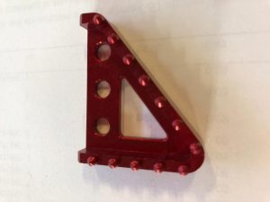 Beta Brake Pedal Tip Adjust - Red