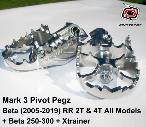 Pivotpegz Beta 2005-2018 RR2T & 4T All models