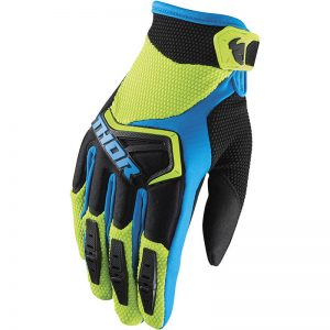 Glove S18 Youth Spectrum Green/Blk MD