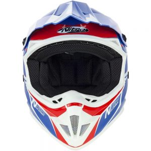 NITRO MX620 PODIUM Helmet BLU/RED/WHT L