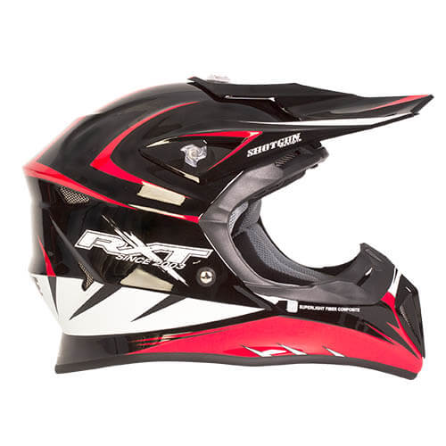 HEL RXT 707 EDGE MX BLK/RED L